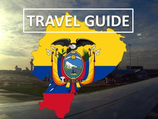 Ecuador Travel Guide Flag